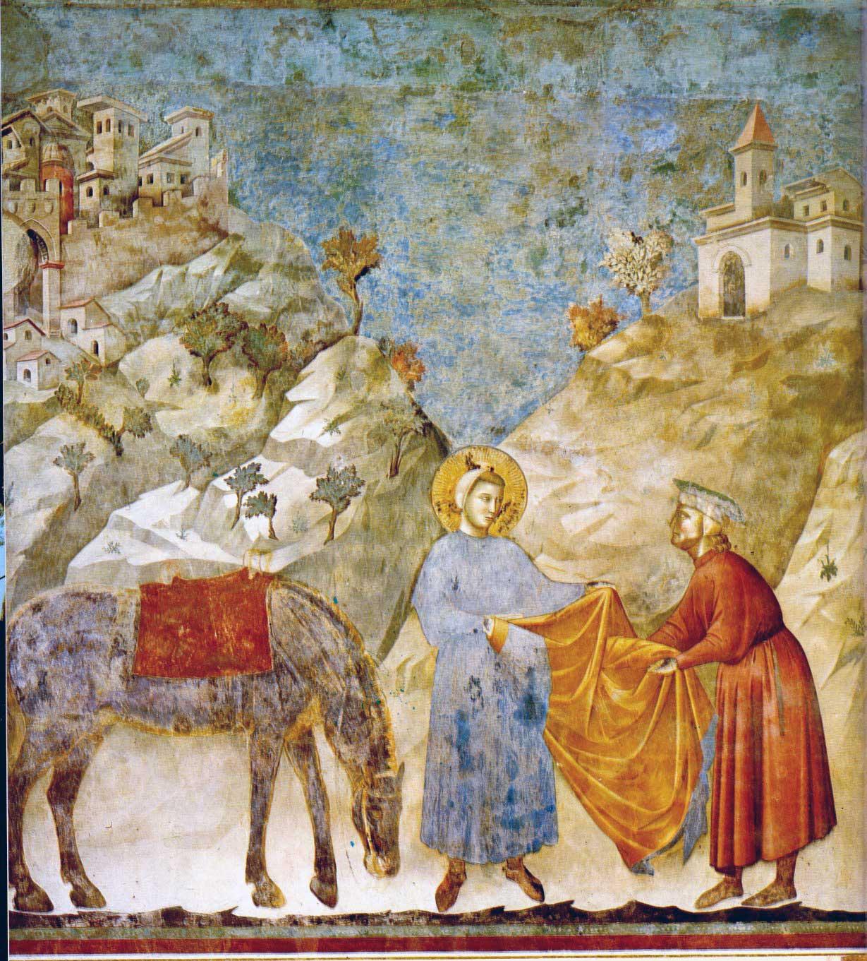 Giotto, Engel und Tugenden Bild als Poster und